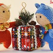 """Куклы и игрушки ручной работы. Ярмарка Мастеров - ручная работа вязаные куколки """"Пупс"""". Handmade."""
