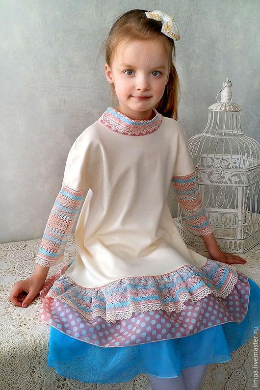 """Одежда для девочек, ручной работы. Ярмарка Мастеров - ручная работа. Купить Платье """"В стиле ретро"""". Handmade. Платье для девочки"""