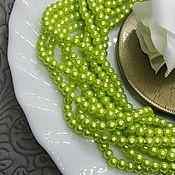 Материалы для творчества handmade. Livemaster - original item Beads: Pearl Glass 4 mm, color
