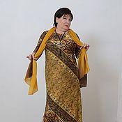 Одежда ручной работы. Ярмарка Мастеров - ручная работа РАСПРОДАЖА 50 %Платье холодный трик арабское. Арт.668. Handmade.