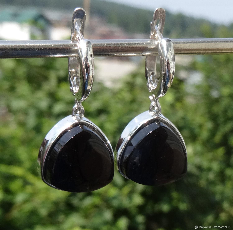 ' Black currant ' Cheryl!, Earrings, Irkutsk,  Фото №1
