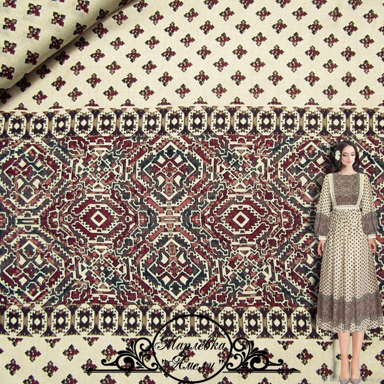 "Sewing handmade. Livemaster - handmade. Buy Марлевка ETRO ""Амели"" итальянские ткани.Scarf, tunic, Italian fabric, dressmaking"