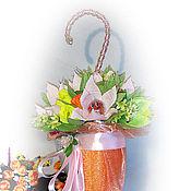 Подарки к праздникам ручной работы. Ярмарка Мастеров - ручная работа Букеты из конфет. Handmade.