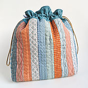 Сумки и аксессуары handmade. Livemaster - original item Textile bag for personal items. Quilt. Handmade.