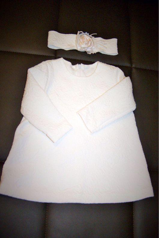 Одежда для девочек, ручной работы. Ярмарка Мастеров - ручная работа. Купить Платье тёплое для малышки. Handmade. Платье для девочки, капитоне