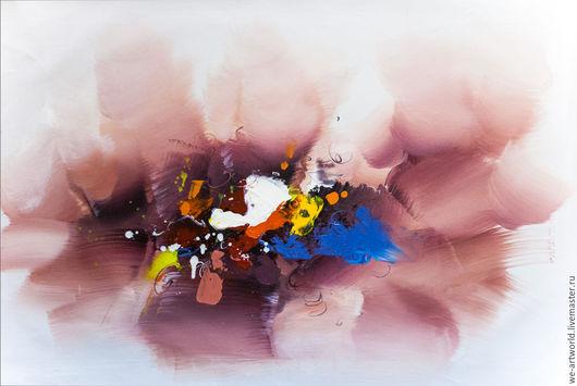 """Абстракция ручной работы. Ярмарка Мастеров - ручная работа. Купить Картина маслом """"Абстракция. Кое-что об эмоциональной саморегуляции N3"""". Handmade."""