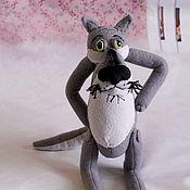 """Мягкие игрушки ручной работы. Ярмарка Мастеров - ручная работа Волк из мультфильма """"Жил-был пёс"""". Handmade."""