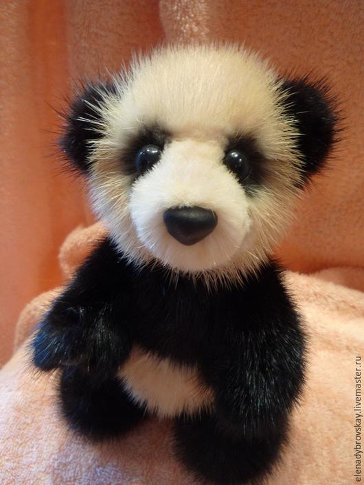Мишки Тедди ручной работы. Ярмарка Мастеров - ручная работа. Купить Мишка Панда. Handmade. Чёрно-белый, панда тедди