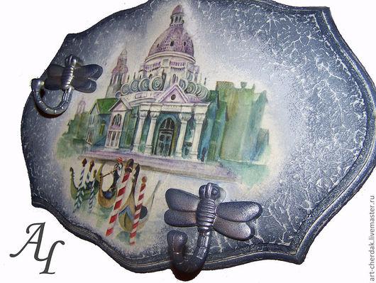 """Прихожая ручной работы. Ярмарка Мастеров - ручная работа. Купить Ключница """"Венеция"""". Handmade. Ключница, гондола, подарок мужчине"""