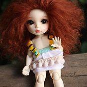 Шарнирная кукла ручной работы. Ярмарка Мастеров - ручная работа Бжд пукифи анте pukifee ante. Handmade.