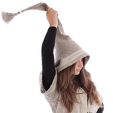 """Одежда ручной работы. Ярмарка Мастеров - ручная работа курточка из натурального льна ,,Любимый гном"""". Handmade."""