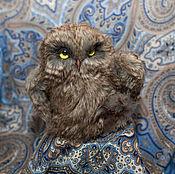 Куклы и игрушки handmade. Livemaster - original item Owl (Sovon Archimedes). Handmade.