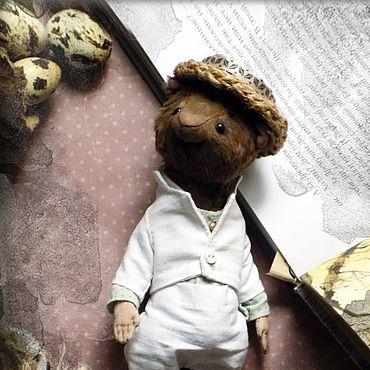 Куклы и игрушки ручной работы. Ярмарка Мастеров - ручная работа Mr. Ratt, водяная крыса Тедди. Handmade.