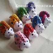 Куклы и игрушки ручной работы. Ярмарка Мастеров - ручная работа Снежки. Handmade.
