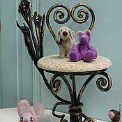 Куклы и игрушки ручной работы. Ярмарка Мастеров - ручная работа кованый  стул для  куклы. Handmade.