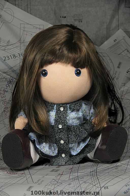 ручной работы. Ярмарка Мастеров - ручная работа. Купить Текстильная кукла Птыша. Handmade. Куклы, хлопковый трикотаж