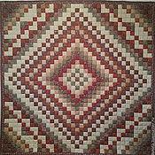 Для дома и интерьера ручной работы. Ярмарка Мастеров - ручная работа одеяло Русский дом. Handmade.