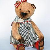 Куклы и игрушки ручной работы. Ярмарка Мастеров - ручная работа Ассоль - коллекционный плюшевый медвежонок. Handmade.