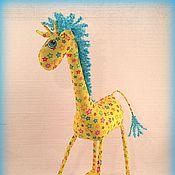Куклы и игрушки ручной работы. Ярмарка Мастеров - ручная работа Жираф :)). Handmade.