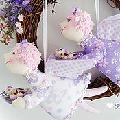 """Куклы и игрушки ручной работы. Ярмарка Мастеров - ручная работа Ангелочки """"Сиреневые мечты"""". Handmade."""