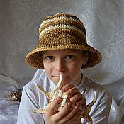 Аксессуары ручной работы. Ярмарка Мастеров - ручная работа Детская шляпка. Handmade.