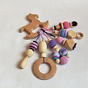 Куклы и игрушки handmade. Livemaster - original item Teething toy. The teether. № 7. Handmade.