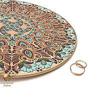 """Подарки ручной работы. Ярмарка Мастеров - ручная работа """"Свадебник"""" подарок на свадьбу, тарелка с оберегом. Handmade."""