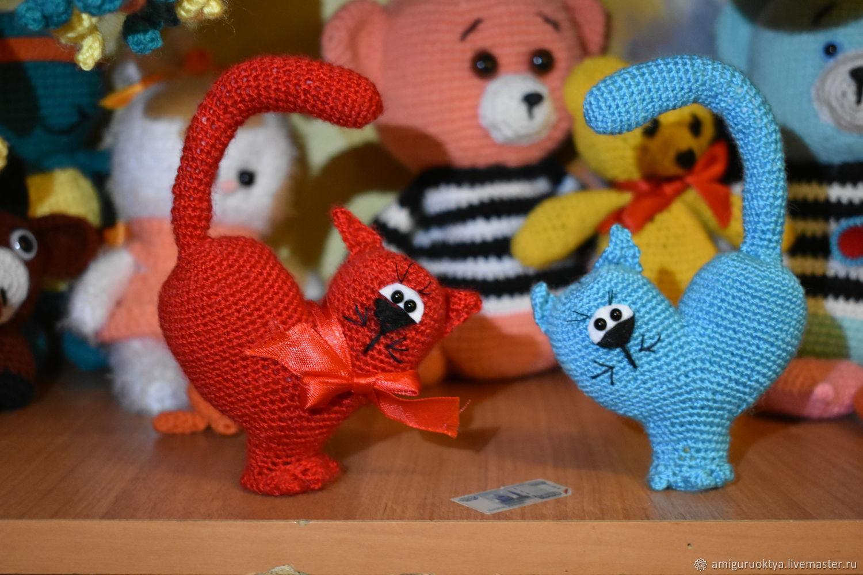 Кот сердечко, Мягкие игрушки, Москва,  Фото №1