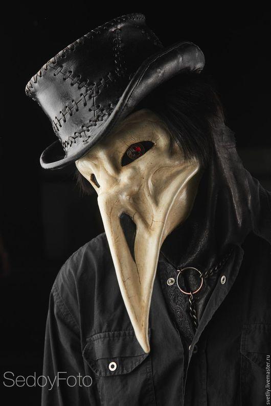 Готика ручной работы. Ярмарка Мастеров - ручная работа. Купить Маска Чумной Ворон (The Plague Raven). Handmade. Черный