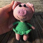 Куклы и игрушки handmade. Livemaster - original item Pig. Handmade.
