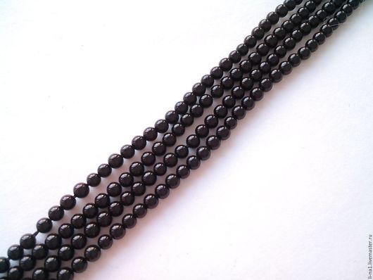 Для украшений ручной работы. Ярмарка Мастеров - ручная работа. Купить Агат черный 2 мм. Handmade. Агат