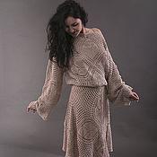 """Одежда ручной работы. Ярмарка Мастеров - ручная работа Льняное платье """"ЭММА"""". Handmade."""