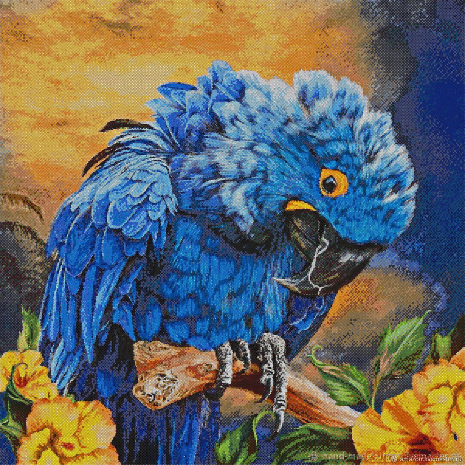 Set of embroidery beads ' PARROT', Embroidery kits, Ufa,  Фото №1