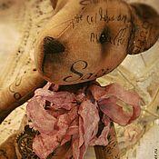 """Куклы и игрушки ручной работы. Ярмарка Мастеров - ручная работа Мишка """"Парижский крем"""". Handmade."""