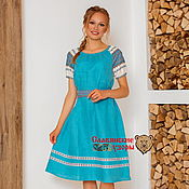 Одежда handmade. Livemaster - original item Dress oberezhnoe Darling MIDI. Handmade.