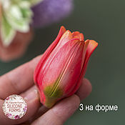 Материалы для творчества handmade. Livemaster - original item Silicone soap mold Tulip