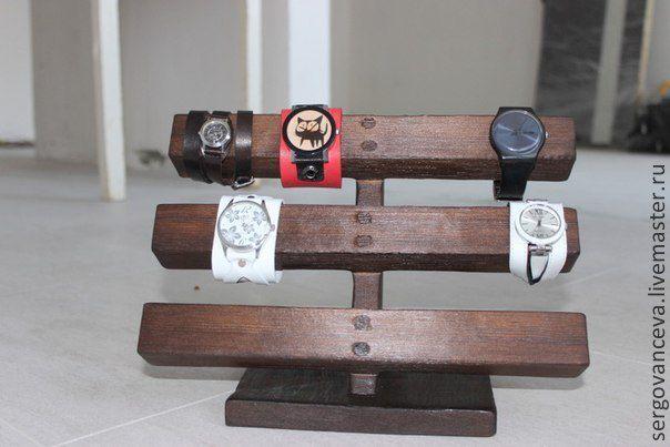 Как сделать коробочку для наручных часов своими руками