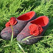 """Обувь ручной работы. Ярмарка Мастеров - ручная работа Тапочки """"Кармен"""". Handmade."""