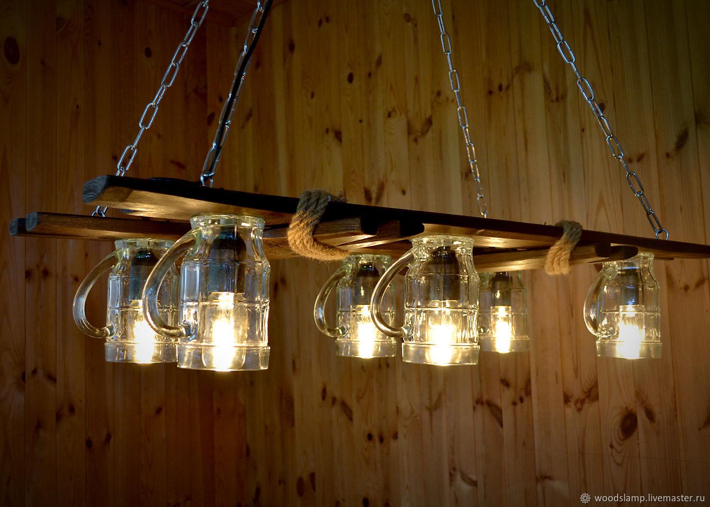 Лампа для беседки своими руками