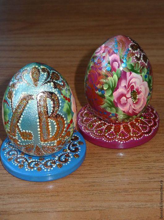 Яйца ручной работы. Ярмарка Мастеров - ручная работа. Купить Яйцо пасхальное на подставке. Handmade. Яйца пасхальные, сувениры и подарки