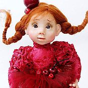 """Куклы и игрушки ручной работы. Ярмарка Мастеров - ручная работа """"Пьяная вишня"""". Handmade."""