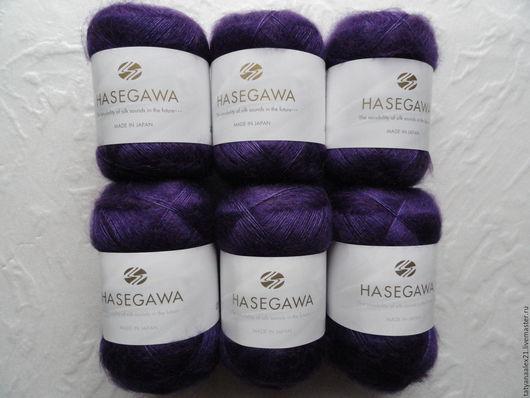 Вязание ручной работы. Ярмарка Мастеров - ручная работа. Купить Пряжа Hasegawa Seika № 34  PANSY. Handmade.