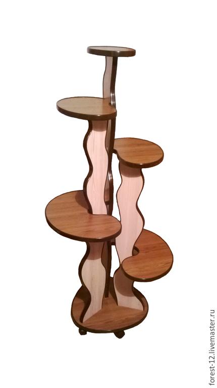 Мебель ручной работы. Ярмарка Мастеров - ручная работа. Купить Цветочная подставка. Handmade. Цветочная подставка, подставка на роликах, подарок