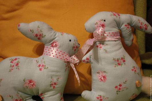 Детская ручной работы. Ярмарка Мастеров - ручная работа. Купить Кролик из текстиля. Handmade. Кролик, игрушка ручной работы
