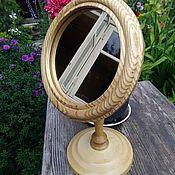 Для дома и интерьера ручной работы. Ярмарка Мастеров - ручная работа Зеркало настольное для макияжа. Handmade.