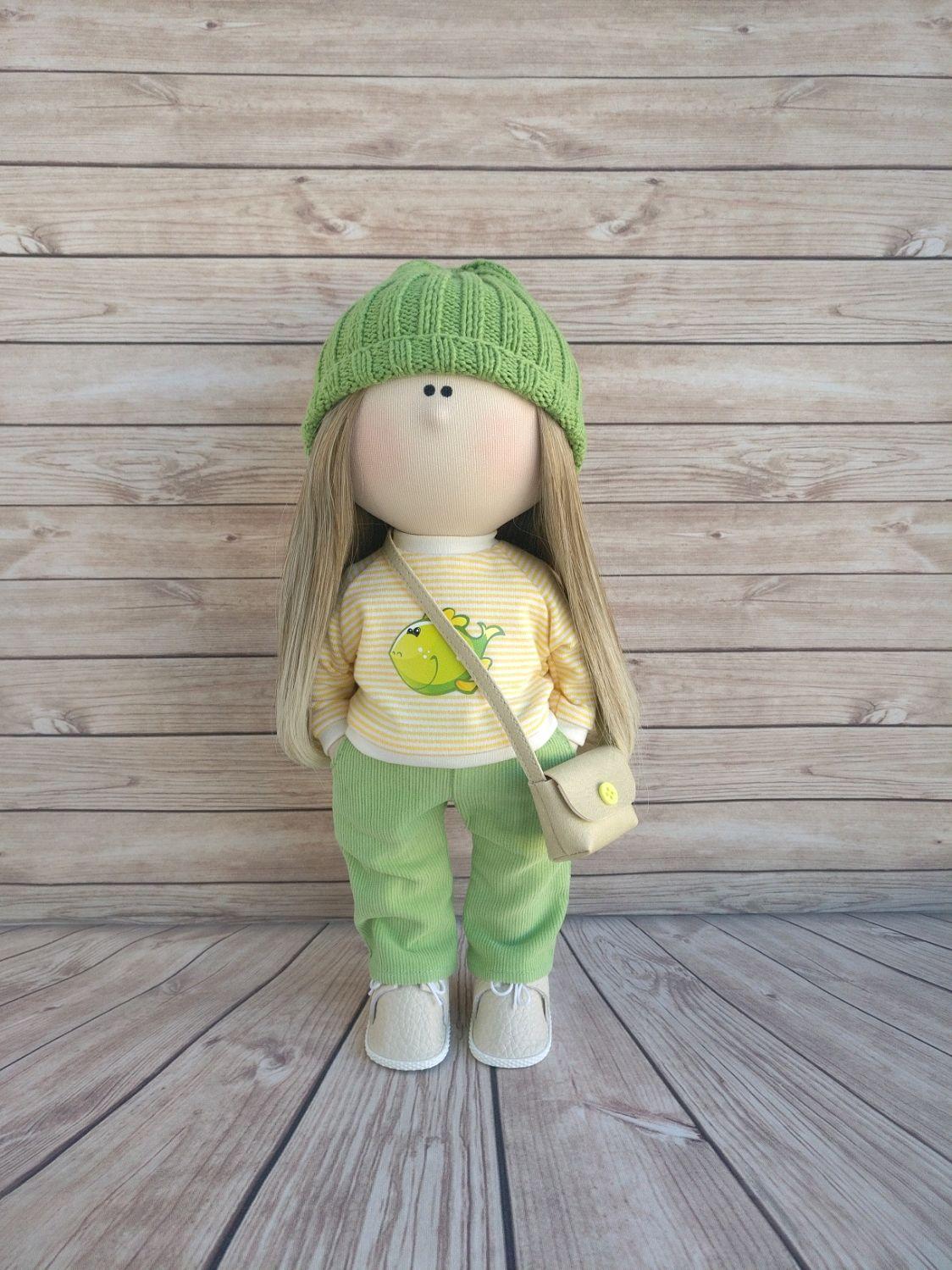 Текстильная кукла , Тыквоголовка, Москва,  Фото №1