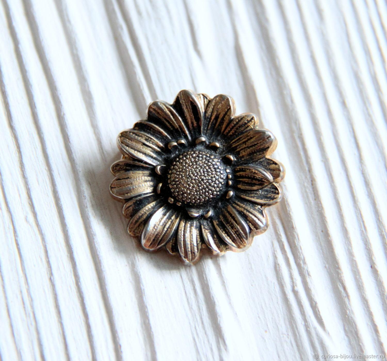 f8188eccbf04 Винтаж: SASA Винтажное брошь-кольцо зажим для платка, шали