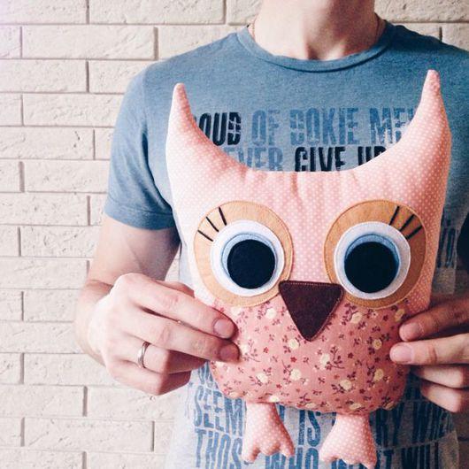 Игрушки животные, ручной работы. Ярмарка Мастеров - ручная работа. Купить Сова совушка. Handmade. Сова, совушка, текстиль, для девочки