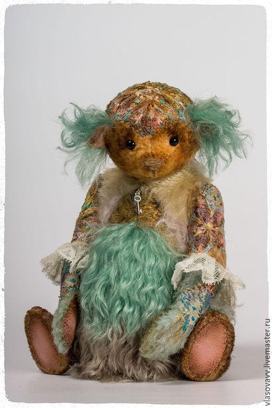 Мишки Тедди ручной работы. Ярмарка Мастеров - ручная работа. Купить Мишка Ruthie. Handmade. Комбинированный, весеннее настроение, нунофелтинг