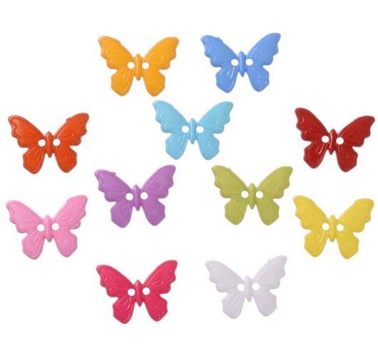 Шитье ручной работы. Ярмарка Мастеров - ручная работа. Купить Пуговицы бабочки. Handmade. Пуговица, пуговица бабочка, бабочка